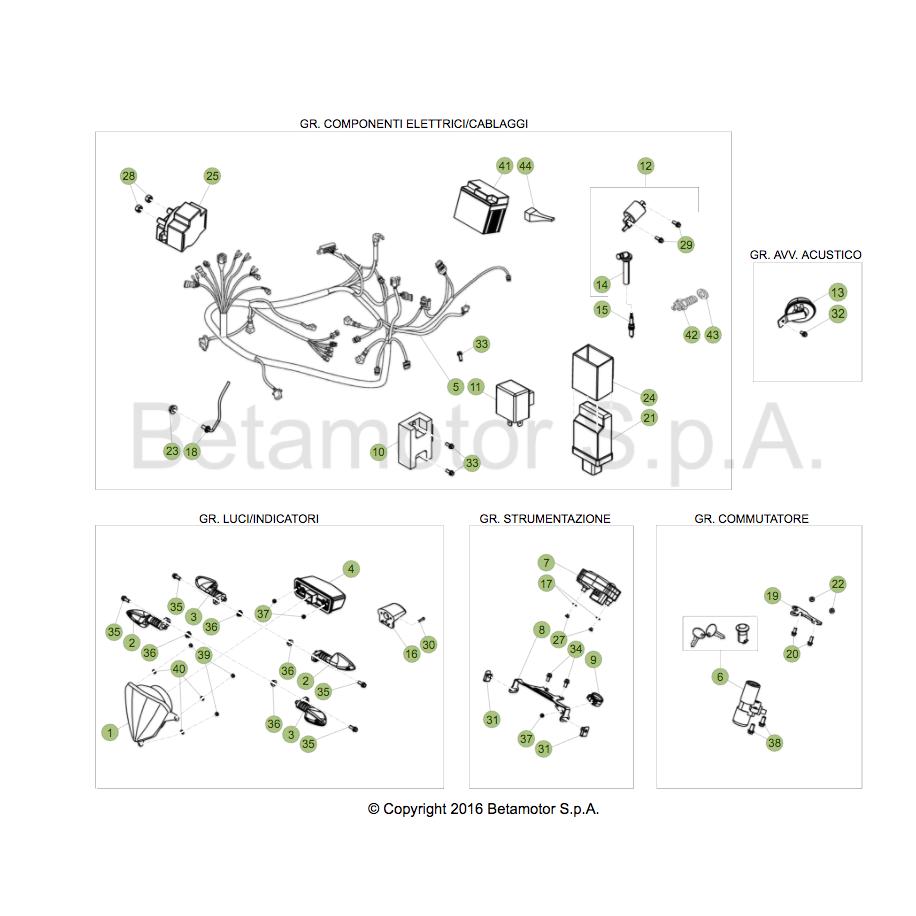 rr 4t 125cc 2016 wiring harness